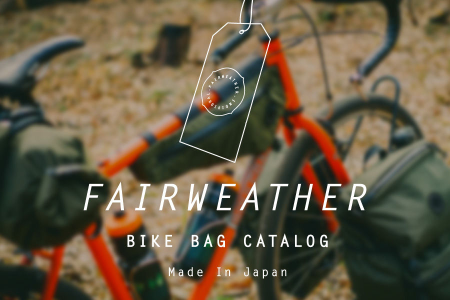 FAIRWEATHER BIKE BAG CATALOG