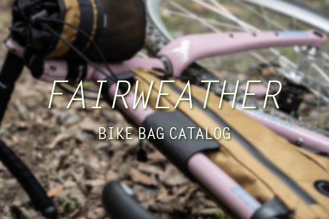 FAIRWEATHER Bike Bags