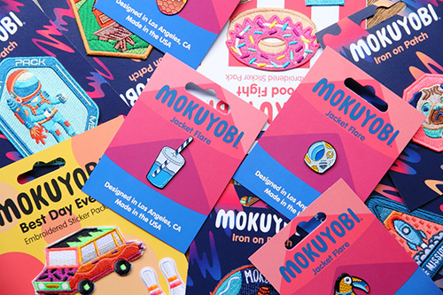 MOKUYOBI THREADS PINS & PATCHES